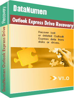 DataNumen Outlook Express Drive Recovery